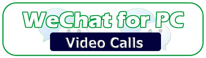 Make video calls free with Wechat for PC