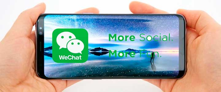 Download Wechat for Samsung Galaxy S8 S9