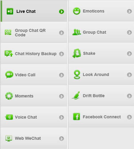 features wechat for computer